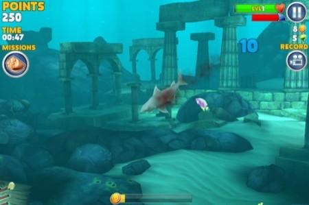 【やってみた】夏だ!海だ! 鮫になって人間を食べる動物なりきりゲーム「Hungry Shark Evolution」2