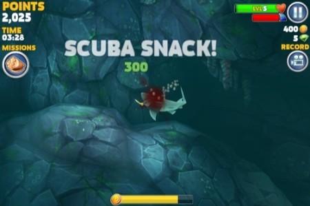 【やってみた】夏だ!海だ! 鮫になって人間を食べる動物なりきりゲーム「Hungry Shark Evolution」13