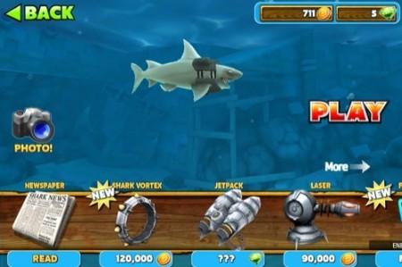 【やってみた】夏だ!海だ! 鮫になって人間を食べる動物なりきりゲーム「Hungry Shark Evolution」17