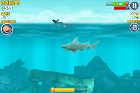 【やってみた】夏だ!海だ! 鮫になって人間を食べる動物なりきりゲーム「Hungry Shark Evolution」14