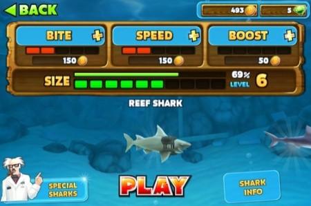 【やってみた】夏だ!海だ! 鮫になって人間を食べる動物なりきりゲーム「Hungry Shark Evolution」16