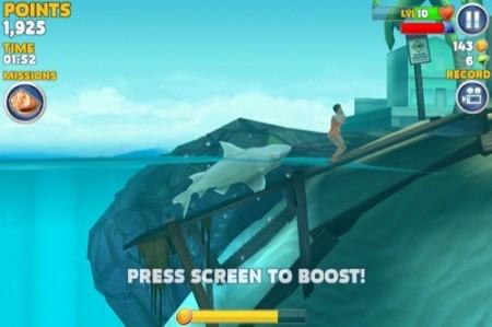 【やってみた】夏だ!海だ! 鮫になって人間を食べる動物なりきりゲーム「Hungry Shark Evolution」12