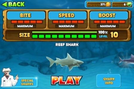 【やってみた】夏だ!海だ! 鮫になって人間を食べる動物なりきりゲーム「Hungry Shark Evolution」15