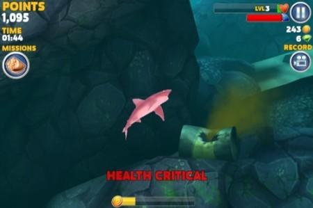 【やってみた】夏だ!海だ! 鮫になって人間を食べる動物なりきりゲーム「Hungry Shark Evolution」10