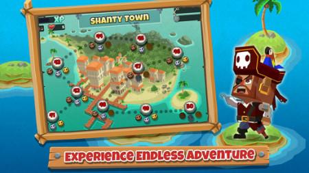 DeNA、海外市場向けのスマホ向け海賊海戦ゲーム「Pirate Bash」をリリース3