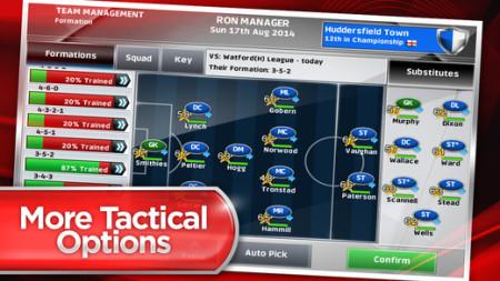スクエニ、海外市場向けサッカーゲーム「Champ Man 15」のiOS版をリリース3