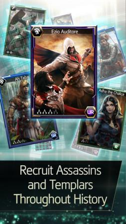 日本からもプレイ可能!グリーとUbisiftら 、「アサシンクリード」シリーズのスマホ向けカードバトルRPG「Assassin's Creed Memories」のiOS版をリリース2