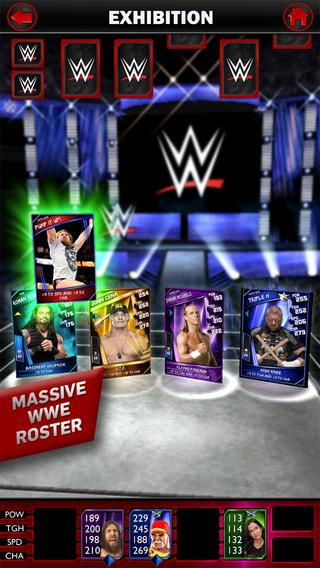2K Games、WWEのレスラーを集めて戦うスマホ向けカードバトルゲーム「WWE SuperCard」をリリース1