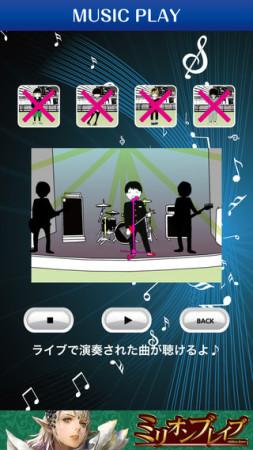 onTheHammock、イラストレーターのフクザワ氏が監修したiOS向けゲームアプリ「私のバンドマン」をリリース3