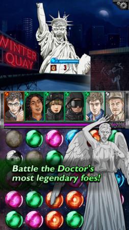 Tiny Rebel GamesとSeed Studio、イギリスのSFドラマシリーズ「ドクター・フー」のパズルRPG「Doctor Who: Legacy」をリリース3
