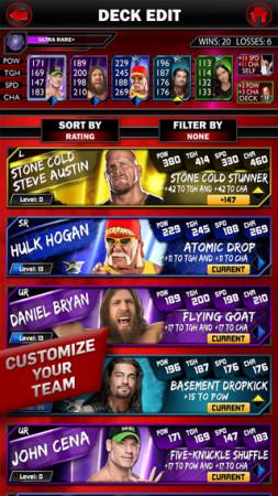 2K Games、WWEのレスラーを集めて戦うスマホ向けカードバトルゲーム「WWE SuperCard」をリリース3