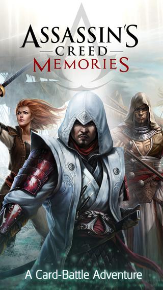 日本からもプレイ可能!グリーとUbisiftら 、「アサシンクリード」シリーズのスマホ向けカードバトルRPG「Assassin's Creed Memories」のiOS版をリリース1
