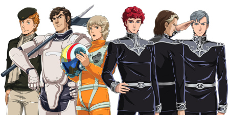 【TGS2014レポート】DMMゲームズがアニメ版「銀河英雄伝説」の艦隊戦シミュレーションRPG「銀河英雄伝説タクティクス」を発表 事前登録受付中9