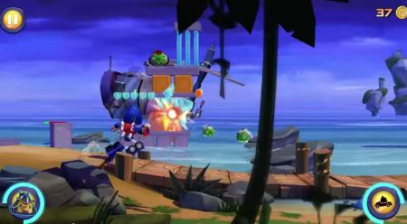 Rovio、Angry Birdsとトランスフォーマーのコラボタイトル「Angry Birds Transformers」のプレイ動画を公開
