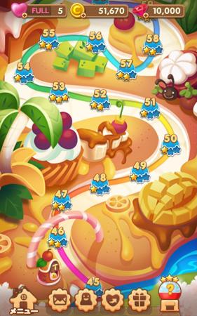 LINEキャラが登場する新たなパズルゲームが登場! LINE、マップ型パズルゲーム「LINE スイーツ」の事前登録受付を開始3