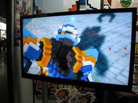 【TGS2014レポート】自分でロボットをカスタムして戦うスマホ向けひっぱりアクションゲーム「Qubot」 ロボットのデータは3Dプリンタ出力も可能3