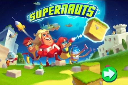 【やってみた】Angey BirdsとClash of Clansの次はこれかも?なフィンランド産知育ゲーム「Supernauts」1