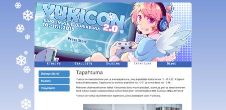 来年1/10~11、フィンランド・エスポーにて日本のゲームやアニメに特化したイベント「YUKICON 2.0」開催