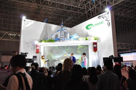 【TGS2014】5000人に壁ドン、待機列80分待ち…ボルテージ、「東京ゲームショウ2014」出展データを発表9