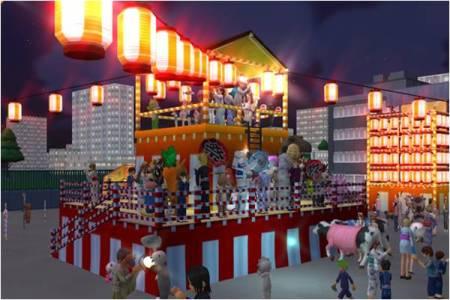 3D仮想空間「meet-me」に埼玉県深谷市のゆるキャラ「ふっかちゃん」が登場2