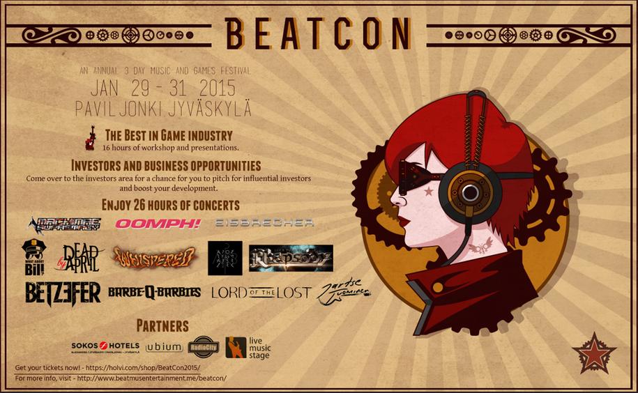 1/29-31、フィンランド・ユヴァスキュラにてゲームとヘヴィメタルの祭典「BeatCon Music & Games Festival」開催