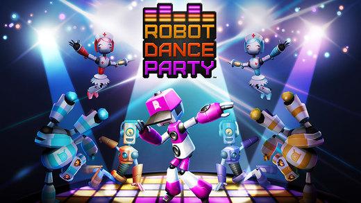 DeNA、海外市場向けのスマホ向けリズムゲーム「Robot Dance Party」をリリース1