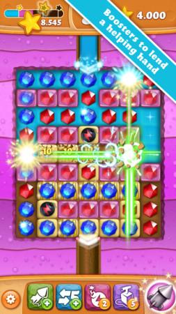 King、新作パズルゲーム「Diamond Digger Saga」のスマホ版をリリース3