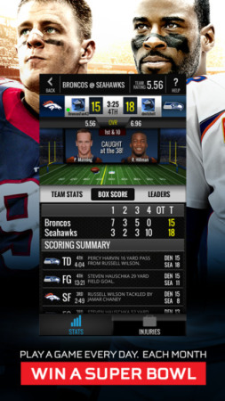Zynga、スポーツゲーム専門ブランド「Zynga Sports 365」より第一弾タイトルとなるアメフトゲーム「NFL Showdown」をリリース3