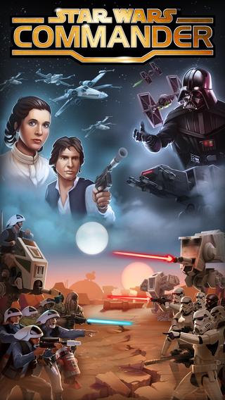 「スター・ウォーズ」のiOS向けストラテジーゲーム「Star Wars: Commander」が500万ダウンロードを突破1