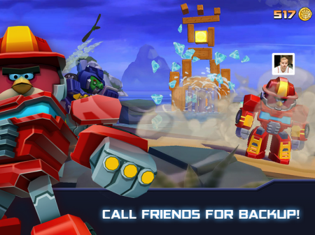 Rovio、「Angry Birds Transformers」のAndroid版をリリース 日本展開はまだ未定3