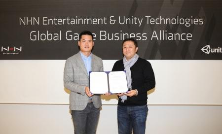 Unityと韓国のNHN Entertainment、グローバルビジネスの加速のため戦略的業務提携