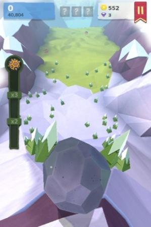 【やってみた】人間や家畜をはね飛ばすと高得点!落石を操作して山間の村を破壊する鬼畜バカゲー「Giant Boulder of Death」2