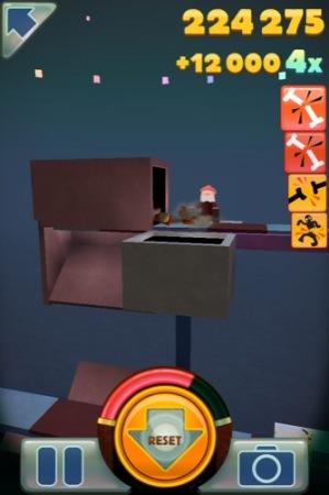【やってみた】人を高所から突き落として転げっぷりを見て楽しむ鬼畜落下シミュレーション「Stair Dismount」11