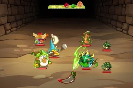 Angry Birdsのスマホ向けRPG「Angry Birds Epic」、パズドラとの限定コラボステージを配信開始1