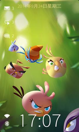 フィンランドのスマホ開発スタートアップJolla、「Angry Birds Stella」モデルのホームアプリをリリース
