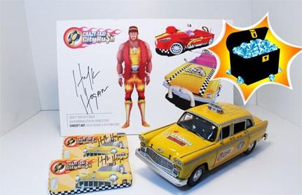 ハルク・ホーガンが「クレタク」に登場! セガネットワークス、「Crazy Taxi:City Rush」でハルク・ホーガン祭り開催3