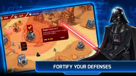 DeNA、映画「スター・ウォーズ」のグローバル市場向けタワーディフェンスゲーム「Star Wars: Galactic Defense」の事前登録を受付中3