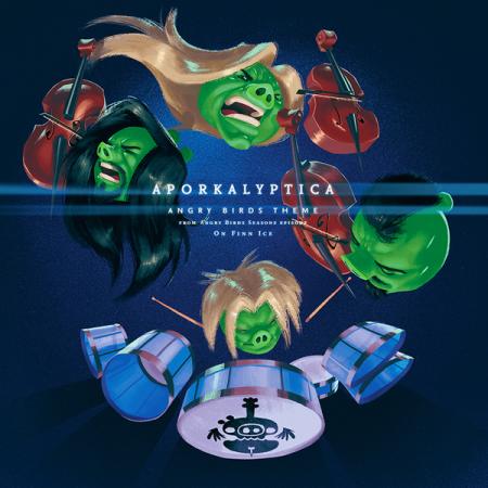 ヘヴィメタルバンドのApocalyptica、「Angry Birds」のテーマ曲のメタルバージョンをリリース! PVも公開