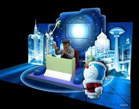 Oculus Riftで未来デパートへ行こう! 西武・そごう、「ドラえもんと一緒に未来を体感!バーチャルタイムマシン」を開催中