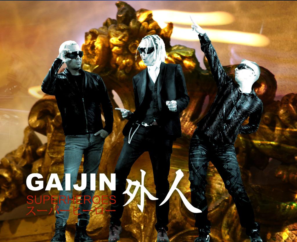 日本大好きフィンランド人のポップグループ「ガイジンスーパーヒーローズ」、楽曲をスマホ向けゲームアプリとして配信