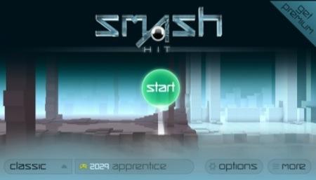 【やってみた】これがそのまんま動くの?! スタイリッシュ過ぎる一人称エンドレスランゲーム「Smash Hit」1