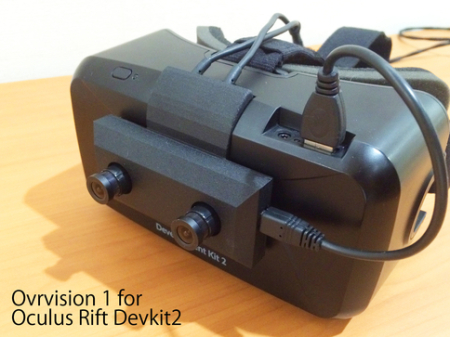 しのびや.com、Oculus Rift用ステレオカメラ「Ovrvision 1」の予約販売を11/14より開始
