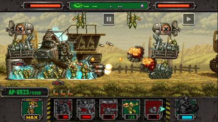 SNKプレイモアのスマホ向けディフェンスゲーム「メタルスラッグ ディフェンス」、1600万ダウンロードを突破