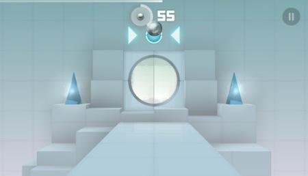 【やってみた】これがそのまんま動くの?! スタイリッシュ過ぎる一人称エンドレスランゲーム「Smash Hit」8