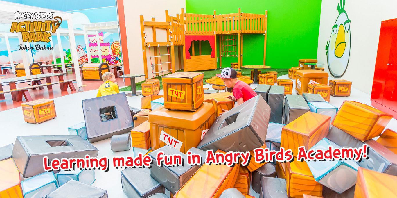 マレーシアに東南アジア初のAngry Birdsテーマパークがオープン!