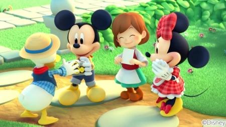 マーベラス、ディズニーキャラが登場するスマホ向け牧場シミュレーションゲーム「ディズニー マジックキャッスル ドリーム・アイランド」の事前登録受付を開始3