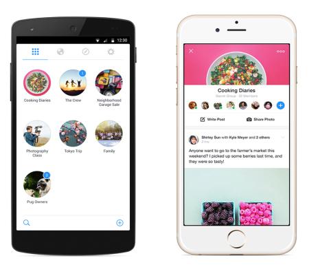 Facebook、グループ機能に特化した単体アプリ「Facebook Groups」をリリース2