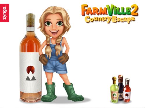 Zynga、農業ソーシャルゲーム「FarmVille 2」にて女優のケイト・ハドソンをコラボ