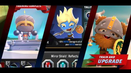 英Mind Candy、スマホ向け戦闘シミュレーションゲーム「World of Warriors」のiOS版をリリース
