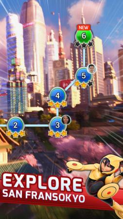 ディズニー、映画「ベイマックス」のスマホゲーム「Big Hero 6 Bot Fight」のiOS版をリリース 開発はGumi Asiaが担当3